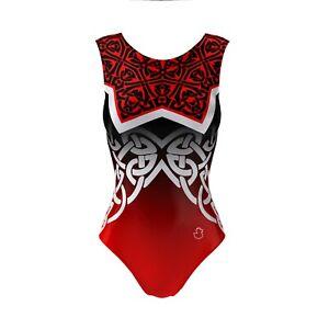 Girls Dance Leotard Lycra Sleeveless Gymnastics Costume Ballet Outfit 3-16Y Age