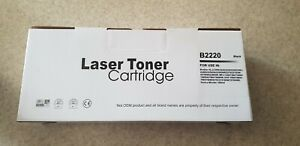 Laser Toner Cartridge B2220P noir pour imprimante Brother *NEUF*