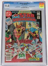 All-Star Squadron 1 CGC 9.8. Origin. OW-W pages. Hawkman; Dr. Mid-Nite; Atom.