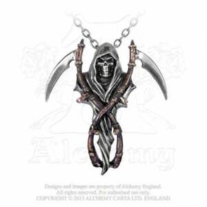 Alchemy Gothic The Reapers Arms Pendant Necklace - Gothic,Goth