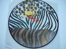 "KISS ""ANIMALIZE"" LP PICTURE DISC ORIGINAL DUTCH STEMRA # 364 MINT UNPLAYED"