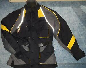 Motorradjacke schwarz Gr. XS (Polyester)