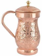 Copper 2 Lt Mughal Jug Ayurveda Water jug For Drinking Water Express Shipping
