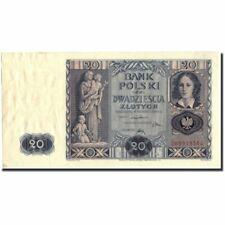 [#212393] Banknot, Polska, 20 Zlotych, 1936, 1936-11-11, KM:77, AU(50-53)