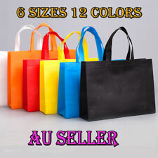 AU 1 x Reusable Shopping Bag Tote Bag Eco-Friendly Non Woven Folding Bag