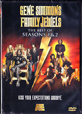 GENE SIMMONS FAMILY JEWELS: The Best of Season 1 & 2 (DVD) New / Free Shipping