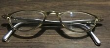 Christian Dior Austria Optyl Gold and Gray Eyeglass Frames Only