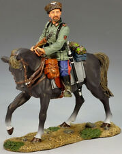 KING & COUNTRY WW2 GERMAN ARMY WS146 MOUNTED COSSACK HOLDING RIFLE MIB