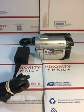Sony Handycam Wide LCD DCR-DVD610 DVD Video Camera Camcorder Tested Working