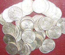 50 x 1966 Silver 50 Cent Coin Nice