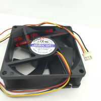 1PC JAMICON JF0825S1SA-R 8025 12V 0.26A 8CM 3-wire power cooling fan