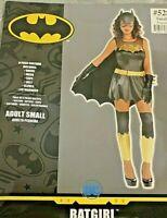 DC Batman Bat Girl Adult Costume Womens Size Small 2-4 Halloween Costume Cosplay