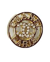 4 Gold Chanel Buttons