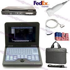 CMS600P2 Notebook/Laptop Ultrasound Scanner, 3.5mhz Convex + 7.5mhz linear probe