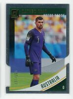 2018-19 Mathew Ryan 37/100 Panini Donruss Die-Cut Press Proof