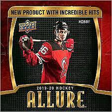 2019-20 Upper Deck NHL Hockey Allure Hobby Box Break - random team