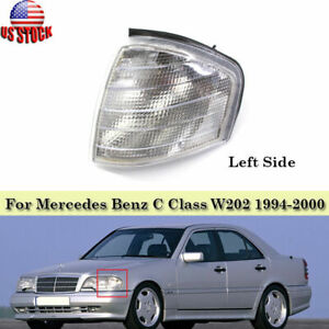 Fits Mercedes Benz W202 1994-2000 Left Side Corner Light Turn Signal Lamp Cover