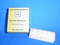 Ear Dot Acu-Point Treatment Magnets (100 Pcs) by Austin Medical Equipment