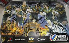 Australian Kangaroos 2006 team signed poster + COA & Photo Proof  (#1085)
