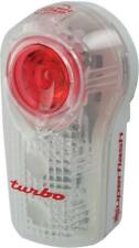 Planet Bike LED Superflash Turbo Taillight: Red/Clear/White