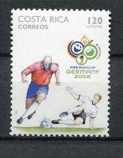 s7544) COSTA RICA 2006 MNH** WC Football - CM Calcio 1v.