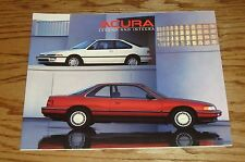 Original 1988 Acura Legend & Integra Sales Brochure 88