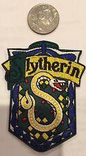 """Harry Potter """"Slytherin"""" - Logo iron-on patch 3""""x 2"""""""