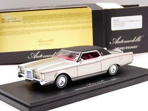 Automodello 1/43 1970 Lincoln Continental Mark III Resin Model Car