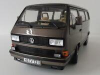 VW T3 Bus MULTIVAN 1990 1/18 Norev 188543 Volkswagen Bronce Metallic