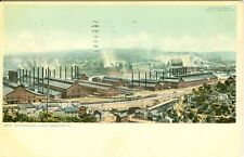 Homestead, PA A 1905 view of the Carnegie Steel Plant and future Shopping Mall