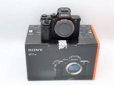 Sony A7RII, A7r II Body, RRS Tripod Plate, 4 Batteries, Leather Half Case, Mint