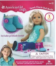 American Girl Crafts Sweet Charm Doll Boots Decorate With Charms, Tassels, More!