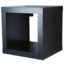 IKEA KALLAX Regal Wandregal Würfel Cube 42x39x42cm 42x42 cm schwarzbraun NEU