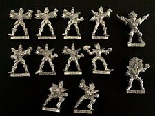 GW 1994 Blood Bowl Dark Elf Naggaroth pesadillas equipo Metal X 12 (P445)