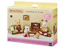 Gioco Sylvanian Families 5287 soggiorno e TV Set