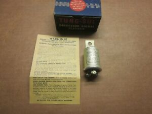 Tung-Sol 6 Volt Flasher #229D Fits Buick-Cadillac-Hudson- Plus many more