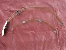 Vintage Bluemels Noweight celluloid mudguards/fenders. Impossibly rare clear