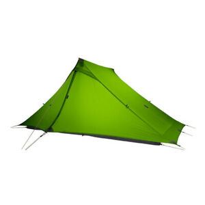 2 Person Outdoor Ultralight Camping Tent 3 Season Professional 20D Nylon Both Si
