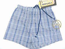 Vintage 90 BRUGI Boxer XL JUNIOR (M) Shorts Costume Beach Bambino Blu Kid