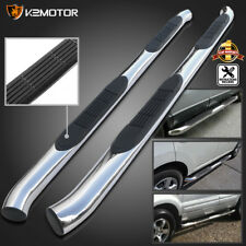 "Fit 2001-2006 Acura MDX 3"" Side Step Nerf Bars 03-08 Pilot S/S Running Boards"