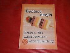 VINTAGE RECIPE AND FOOD TIPS BOOK  HOSTESS MAGIC 1984