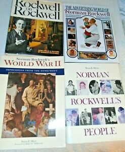 5 Norman Rockwell art books including 1946 Norm Rockwell Illustrator First Print