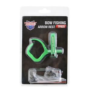 Archery Bowfishing Arrow Rest Aluminum Fishing Hunting Compound RecurveBow RH LH