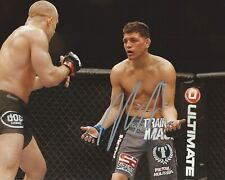 Nick Diaz Signed 8x10 Photo MMA UFC Strikeforce Autographed COA