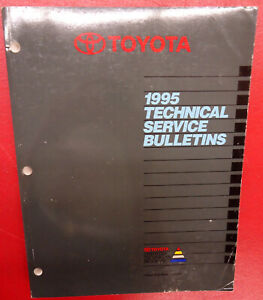 Toyota Technical Service Bulletins Manual Car 1995 Book Models