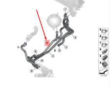 BMW X3 F25 Return Coolant Hose 64219305756 9305756 NEW GENUINE