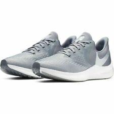 Nike Women's Zoom Winflo 6 Running Shoes Gray White AQ8228-002 NEW