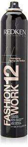 Redken Fashion Work 12 Versatile Working Spray Black Bottle 11 Oz Dented