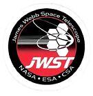 JAMES WEBB SPACE TELESCOPE STICKER ~ JWST Space Observatory NASA JPL ESA CSA NEW