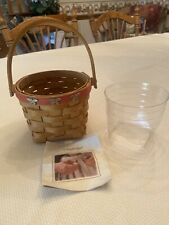 New ListingLongaberger 2007 Mother's Day Basket w/protector Vgc Used